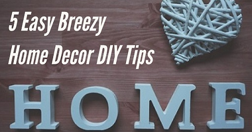 Fast and Inexpensive Home Decor DIY