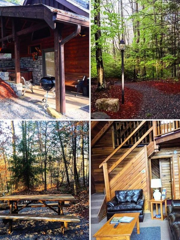 New River Gorge Cabins Collage