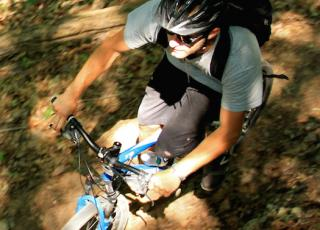 New River Gorge Cabins biking