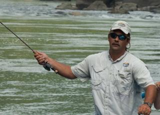 New River Gorge Cabins fishing
