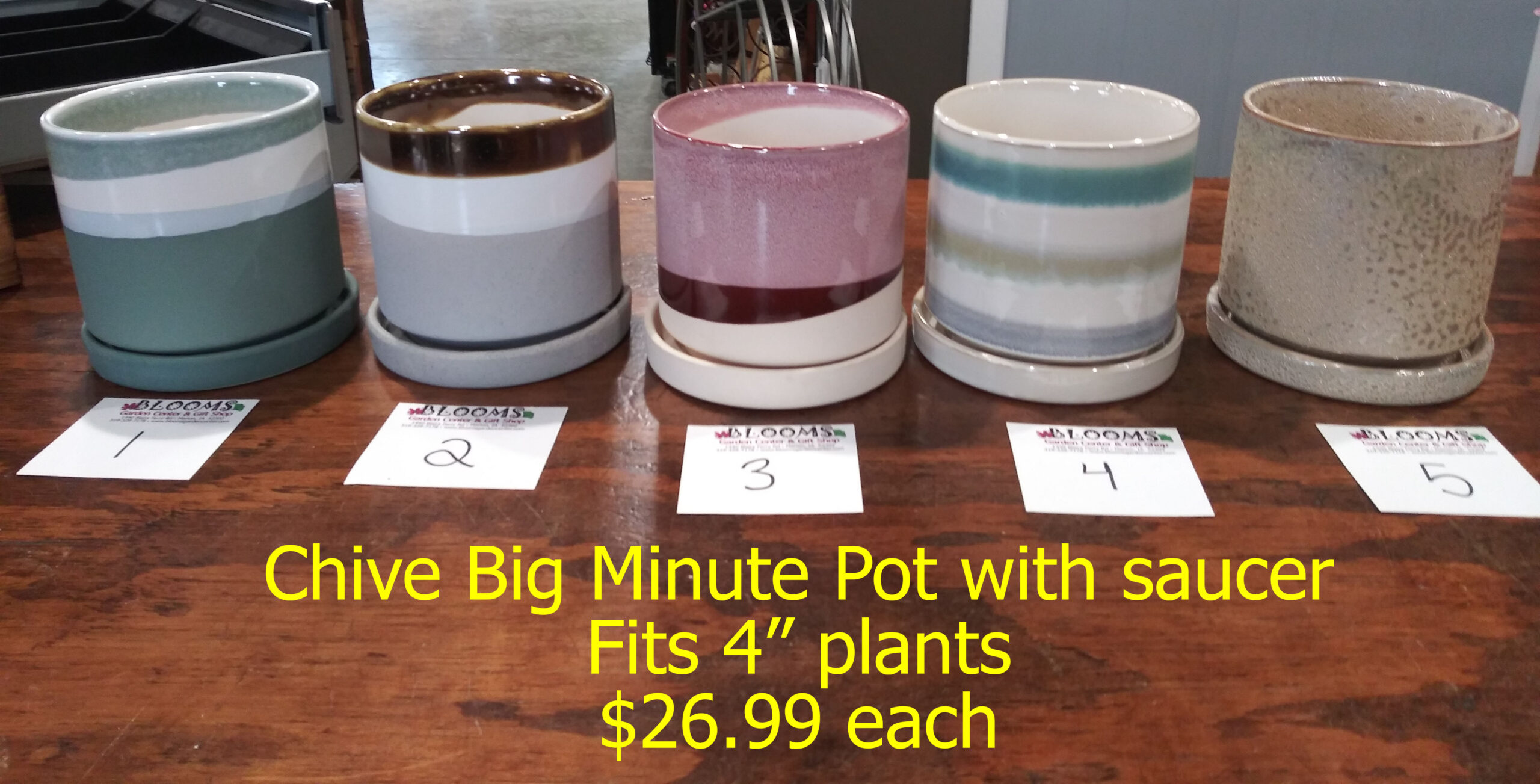 "4"" Big Minute Pot"