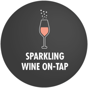 Sparkling Wine on Tap