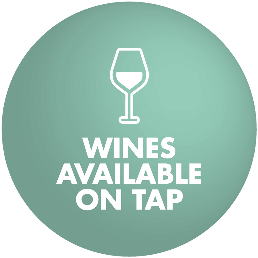 Wines Available On Tap