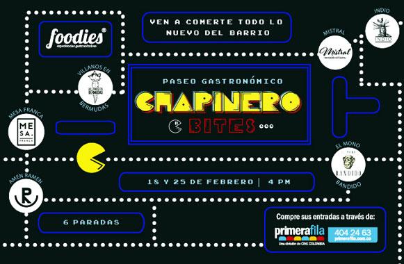 Chapinero en 6 mordiscos