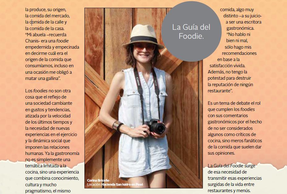 Entrevista en revista Pauta