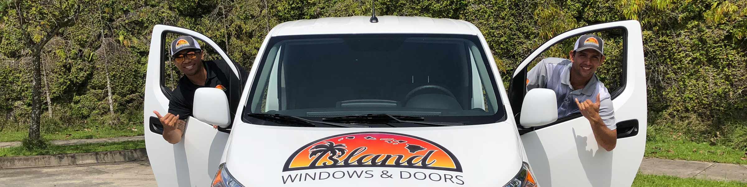Island windows and doors team