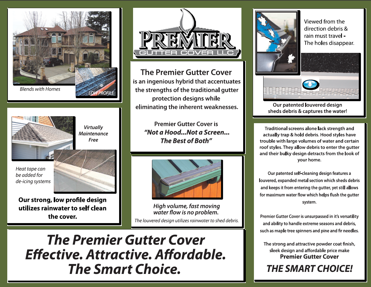 Indiana premier gutter covers and gutter guards