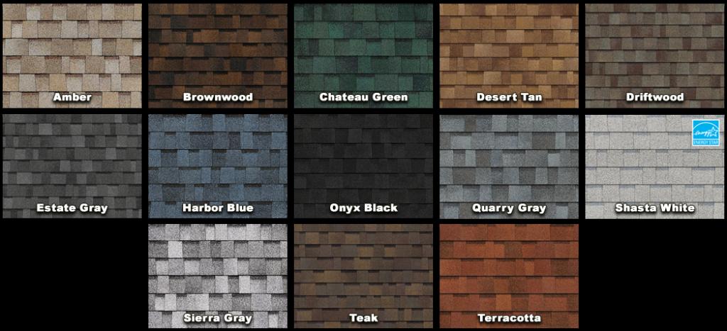 Oakridge colors