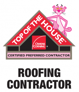 Owens Corning Top Of The House Logo