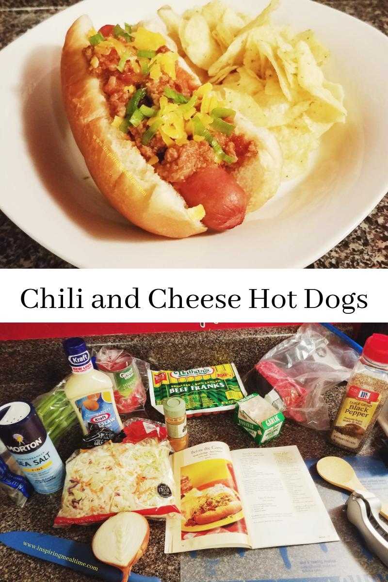 Chili and Cheese Hot Dog Recipe