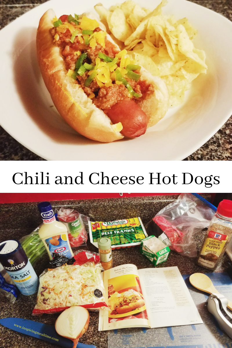Chili and Cheese Hot Dog Recipe