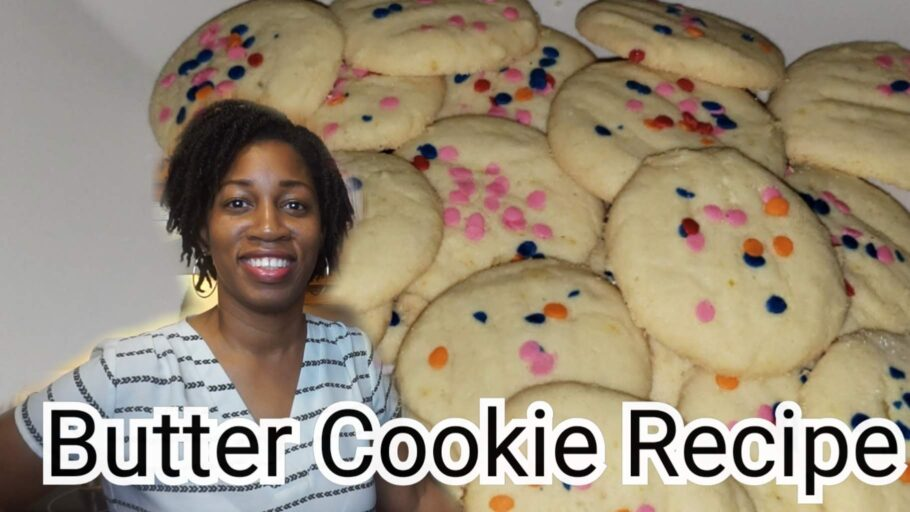 Orange Butter Cookie Recipe