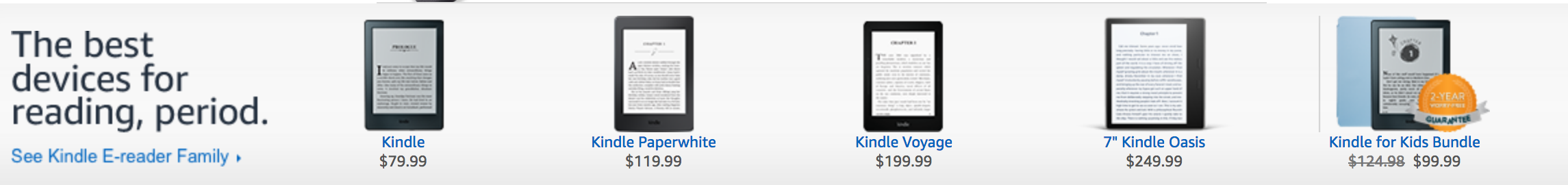 amazon paper white kindle review