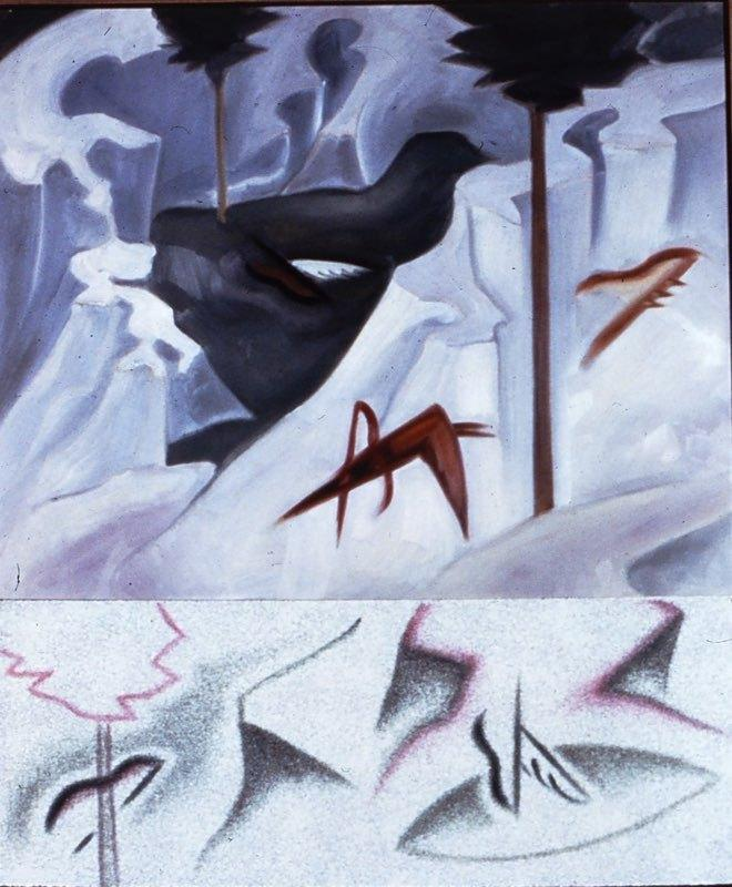 The Hunt, 1984, Private Collection