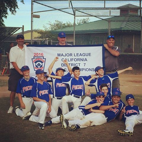 District 7 Majors Champions!
