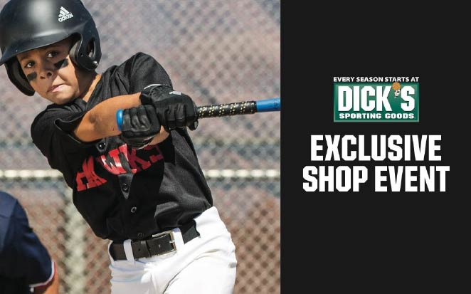 Dick's Sporting Goods Exclusive Shop Event for Pocket Little League This Weekend!