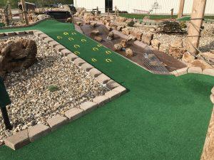 Hole 12 at Outback Mini Golf