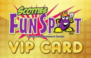 vip fun spot card