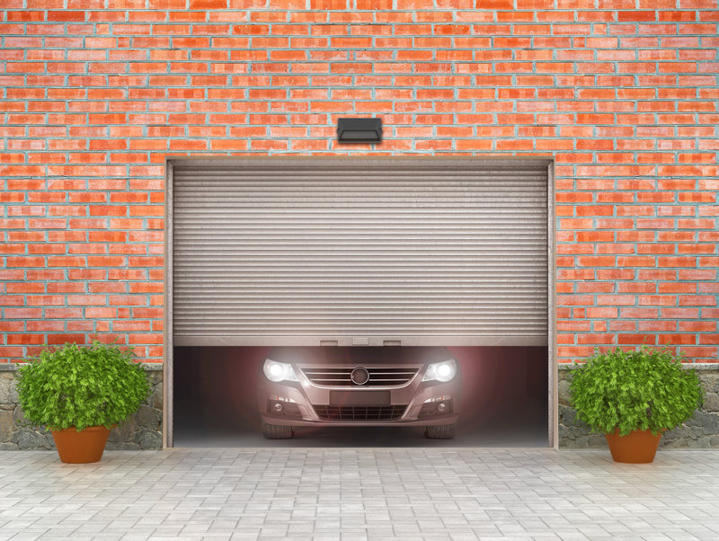 how led lights interfere with a garage doors performance