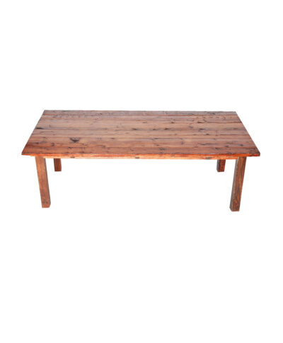 4'X6' Mahogany Farm Table