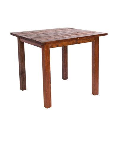4'X4' Mahogany Farm Tables