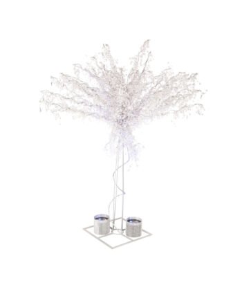 8' Crystal Trees