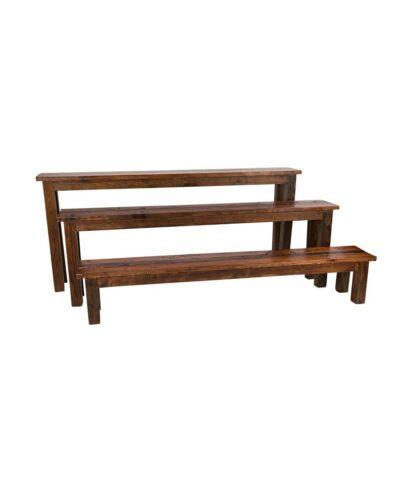 8' Mahogany Bench