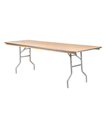 "8'X30"" Rectangular Banquet Tables"