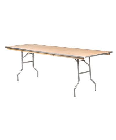 """8'X30"""" Rectangular Banquet Tables"""
