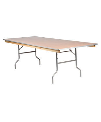 8'X48' Rectangular Banquet Tables