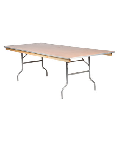8'X48' Rectangular Banquet Tables