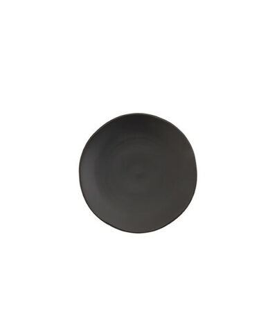 Black Matte China B&B Plate