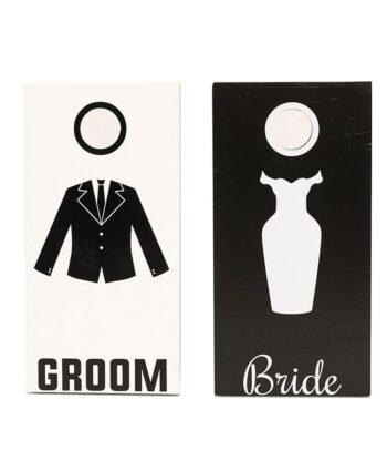 Bride & Groom Cornhole