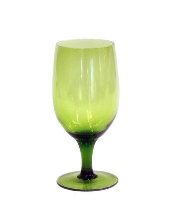 Emerald Green Goblet