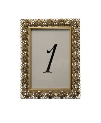 Floradora Gold Table Number