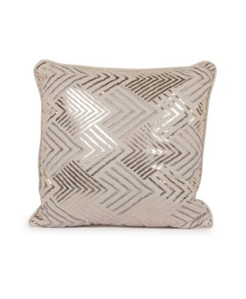 Gold Geometric Pillow