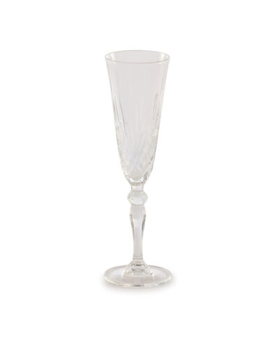 Grace Etched Champagne Glass