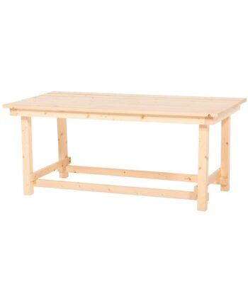 The Hank Coffee Table - Natural Wood
