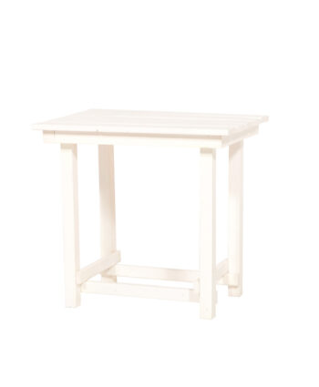 The Hank End Table - White
