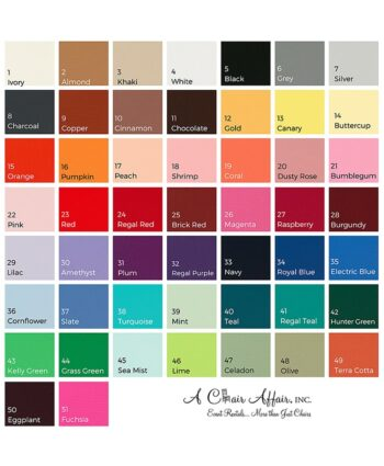 """Polyester Linens 8' Banquet - 90"""" x 156"""" All Colors"""