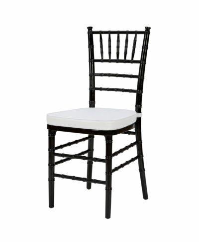 Steel Core Black Chiavari Chair