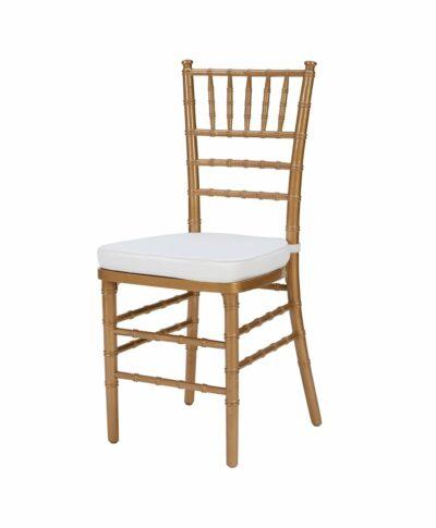 Steel Core Gold Chiavari Chair