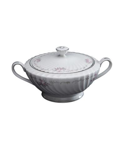 Lidded Vintage China Vegetable Bowl