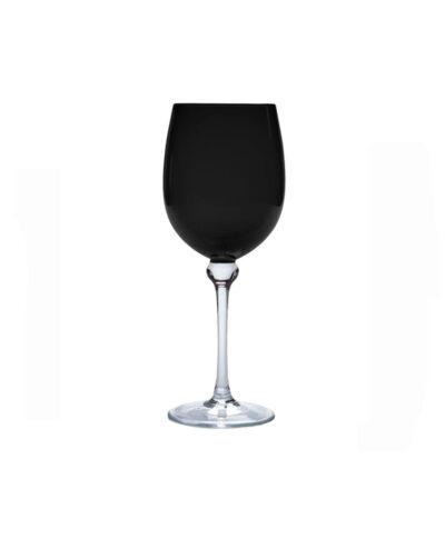 Black Goblet Stemware