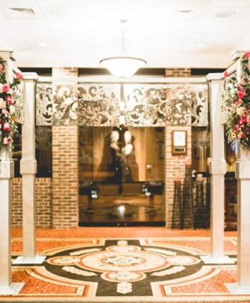 Mirror Finish Wedding Arch