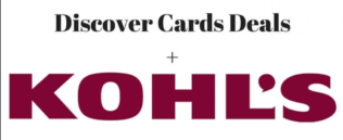 Get free $10 Kohl's Case with Discover Card