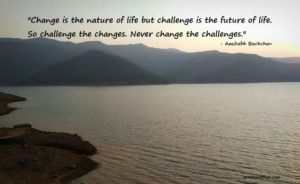 Amitabh Bachchan on Change and Challenge