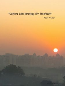Peter Drucker on Strategy and Culture