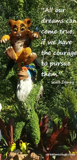 Walt Disney on Dreams and Courage