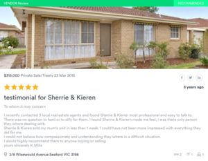 SOLD by Sherrie & Kieren Lee